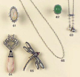 (2) A BELLE EPOQUE PEARL AND D