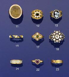 An early 19th century gold, ha