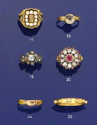 A 19th century diamond and ros