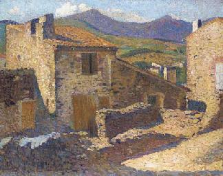 Village ensoleillé