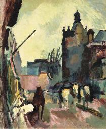 L'attelage (Rue de Falaise)