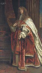 Portrait of King James II, whe