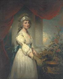 Portrait of Lady Frances Herbe