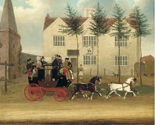 The Guildford to London coach