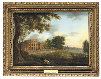 View of Chelsea Farm with the