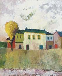 Huizen aan de kade