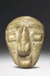 A CHONTAL STONE HEAD