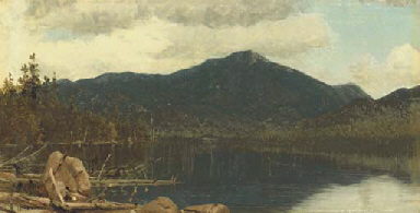 Mount Whiteface from Lake Plac