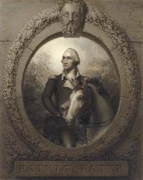 Equestrian Portrait of George