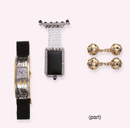 A GROUP OF WATCHES AND CUFF LI