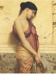 The tambourine girl