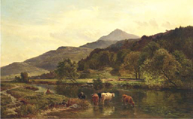 Moel Siabod from Capel Curig,