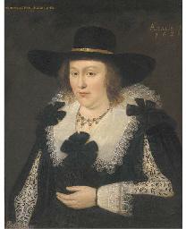 Portrait of Lettice Morison, V