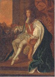 Portrait of King Charles II (1
