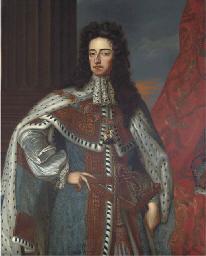 Portrait of King William III (