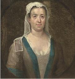 Portrait of a maid, half-lengt