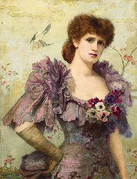 Portrait of Lillie Langtry, ha