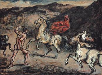 Scudiero con cavalli