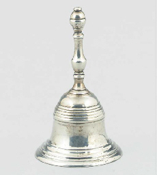 A SILVER TABLE BELL