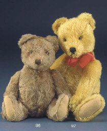 A Steiff 1950s Teddy Bear