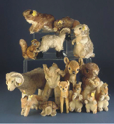 Steiff Hooved Woodland animals