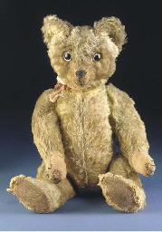An early British teddy bear