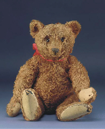 A fine Steiff center-seam tedd