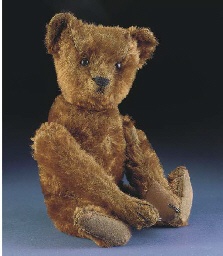 A Bing somersaulting teddy bea