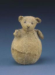A rare Steiff roly poly teddy