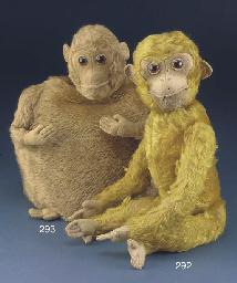 An Omega monkey tea cosy