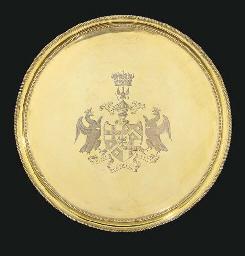 A George III silver-gilt salve