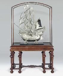 A German silver nef