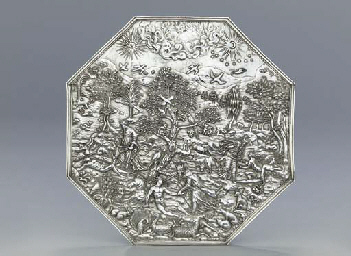 A South German silver plaque