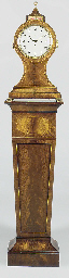 A George III large mahogany, satinwood-lined and brass-mounted...