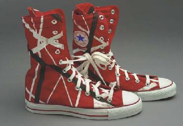 Eddie Van Halen Converse Shoes