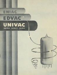 ENIAC, EDVAC, UNIVAC: Universal automatic computer. [Philadelphia ...