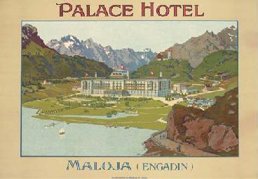 PALACE HOTEL, MALOJA