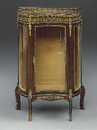 A French marble topped and gil
