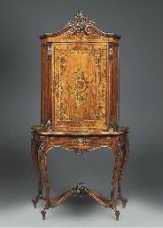 A German floral marquetry and