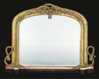 A VICTORIAN GILT COMPOSITION O