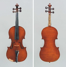 A Belgian Violin by Auguste Fa