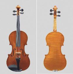 A Violin by Ansaldo Poggi, Bologna 1946