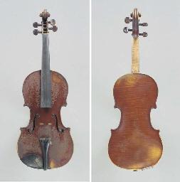 A Violin by Dominicus Vlummens
