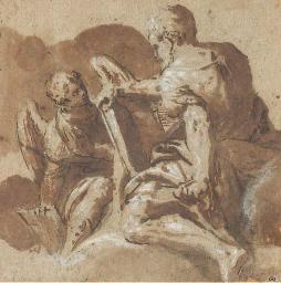 Saint Mathieu et l'Ange