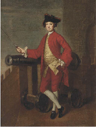Portrait of an officer, small