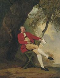 Portrait of Squire Austin, sea