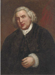 Portrait of Samuel Johnson (17