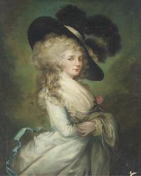 Portrait of Georgiana, Duchess