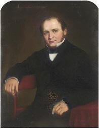 Portrait of a gentleman, seate