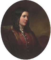 Portrait of Miss Catherine Ett